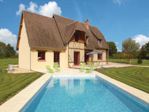 Holiday home La Croupte J-839 : Guest accommodation near Le Mesnil-Guillaume