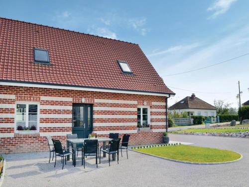 Holiday home Renty with a Fireplace 417 : Guest accommodation near Dennebrœucq