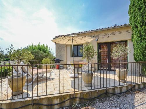Holiday home Mas des Oliviers O-840 : Guest accommodation near Gigondas