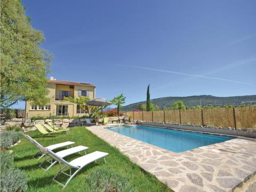 Apartment St Marcellin L Vaison 12 with Outdoor Swimmingpool : Apartment near Crestet