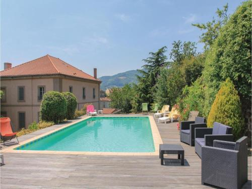 Six-Bedroom Holiday Home in St Felicien : Guest accommodation near Colombier-le-Vieux