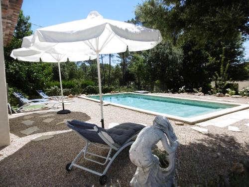 La Maison Blanche : Guest accommodation near Cotignac