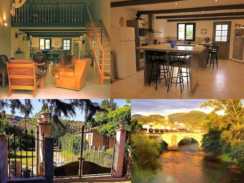 Gite CATHARE en OCCITANIE : Guest accommodation near Montazels