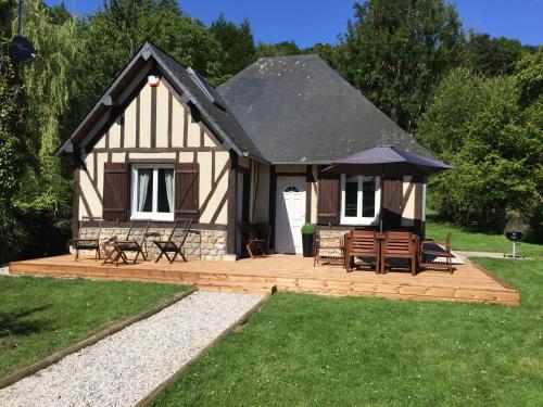 Aux abords d honfleur : Guest accommodation near Ablon