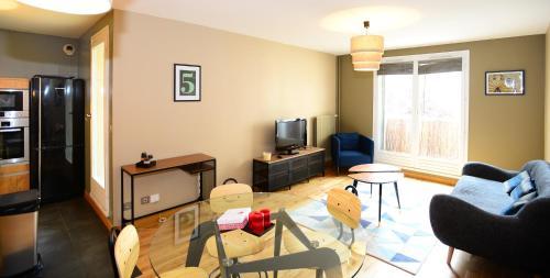Appart' Danton : Apartment near Lyon 3e Arrondissement