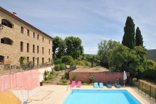 Appartement 2P Piscine : Apartment near Saint-Martin-de-Castillon