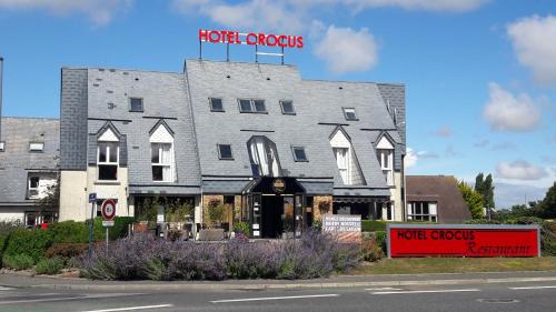 Hôtel Crocus Caen Mémorial : Hotel near Saint-Manvieu-Norrey