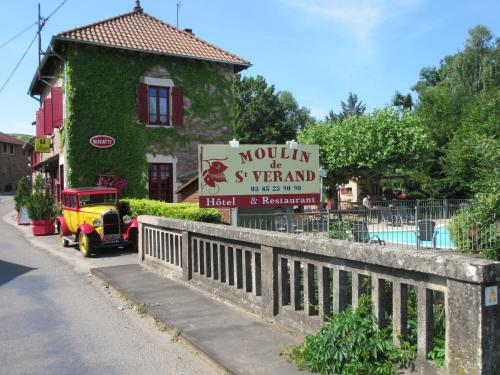 Le Moulin de Saint Verand : Hotel near Saint-Amour-Bellevue