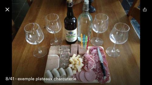 Cabane et vallée : Guest accommodation near Charleville-Mézières