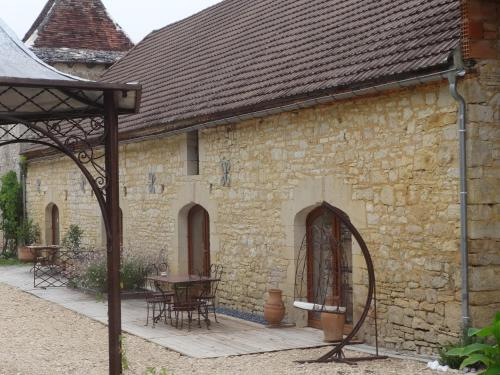 Lacoste B&B : Bed and Breakfast near Saint-Chamarand