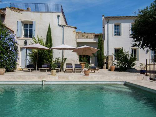Villa La Maison du Bonheur : Guest accommodation near Plaissan