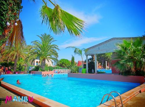 Malibu Village : Guest accommodation near Villelongue-de-la-Salanque