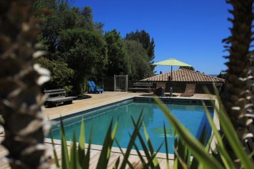 la poussada : Guest accommodation near Roquefort-des-Corbières