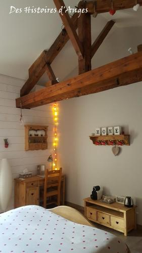 B&B & Spa Des Histoires d'Anges : Bed and Breakfast near Bissy-sous-Uxelles