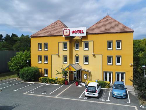 P'tit Dej Hôtel Lormont (The Originals Hôtel Access Bordeaux Est Lormont) : Hotel near Beychac-et-Caillau