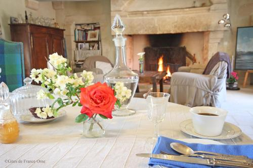 Manoir de Coulandon : Bed and Breakfast near Les Rotours