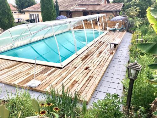 La Maison du Bonheur : Guest accommodation near Les Lèves-et-Thoumeyragues