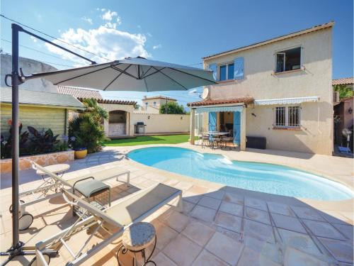 Three-Bedroom Holiday Home in Antibes : Guest accommodation near Biot