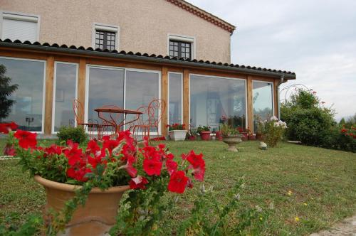 Villa Panoramique : Guest accommodation near Saint-Maurice-l'Exil