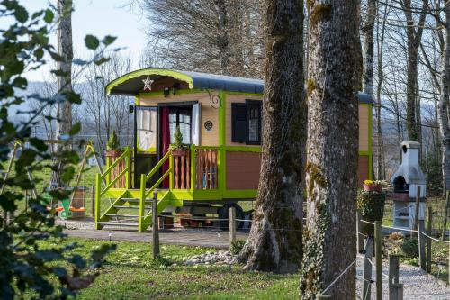 Roulotte des Greppes : Guest accommodation near Clermont