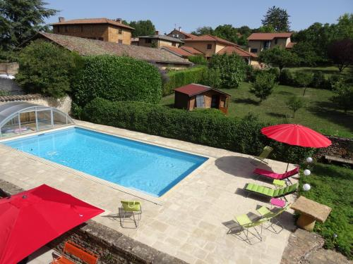 Le Domaine De Canelle : Bed and Breakfast near Chazay-d'Azergues