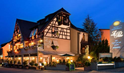Logis Hotel Le Parc & Spa : Hotel near Orschwiller