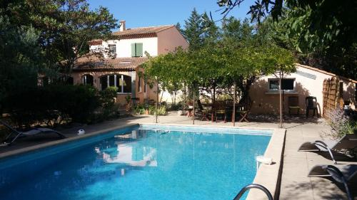 Le clos des olivettes : Bed and Breakfast near Guzargues