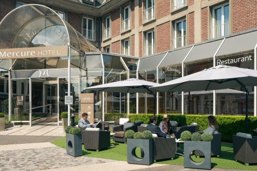 Mercure Abbeville Centre – Porte de La Baie de Somme : Hotel near Mouflières
