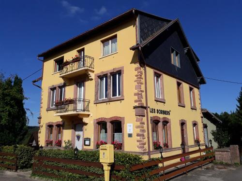 Chambres d'hôtes Les Sorbiers : Bed and Breakfast near Sainte-Croix-aux-Mines