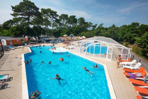 Camping Le Boudigau : Guest accommodation near Labenne