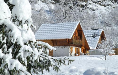 Odalys Chalet Le Pleynet : Guest accommodation near Saint-Christophe-en-Oisans