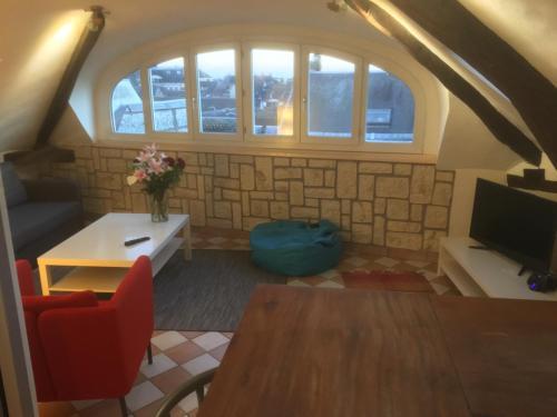Rouen Quartier St Maclou : Apartment near Rouen