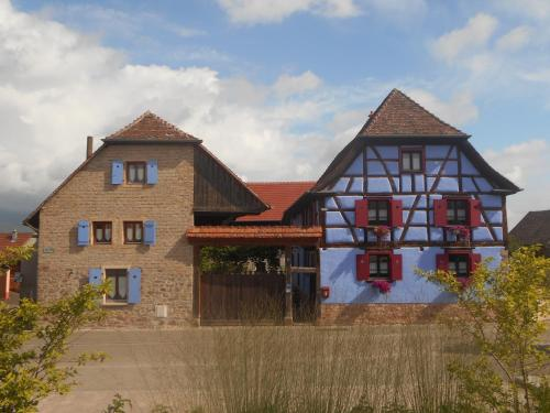 Les Petits Tisserands : Guest accommodation near Zellwiller