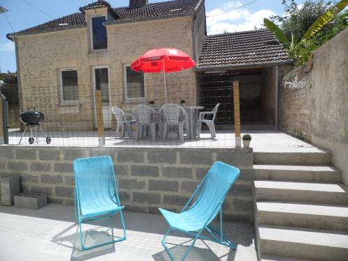 t'cheu pepere : Guest accommodation near Cricqueville-en-Bessin