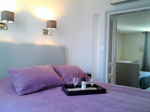 Logis Loiseau avec terrasse : Apartment near Saint-Pey-d'Armens