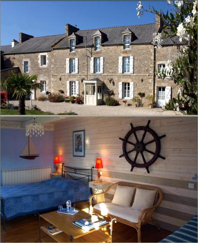 Clos St Ange (Dinan-St Malo) : Bed and Breakfast near Guitté