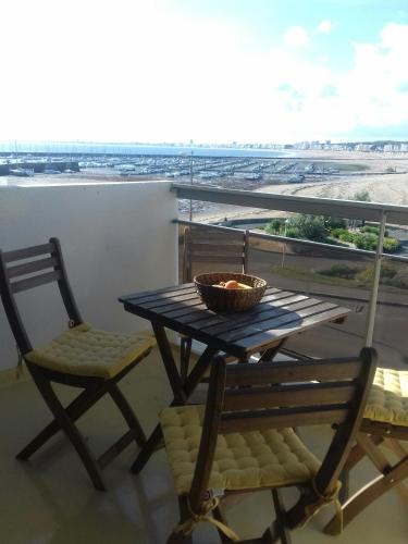 studio Galliéni vue panoramique face mer : Apartment near Pornichet