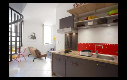 Le Duplex : Apartment near Saint-Mandrier-sur-Mer