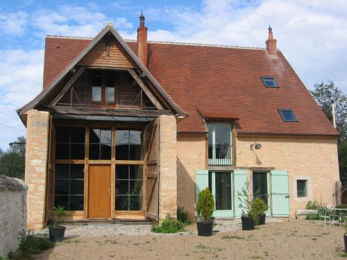 Chambres d'hôtes L'Ange Blanc : Bed and Breakfast near Thevet-Saint-Julien