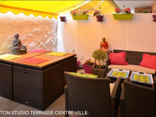 Appartement Cocon Centre Ville : Apartment near Menton