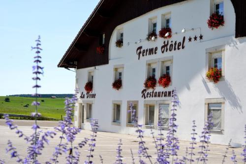 Ferme Hotel de la Vrine : Hotel near Voires