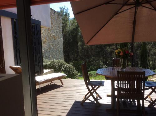 Studio + Yourte - Thym et romarin : Apartment near Saint-Savournin