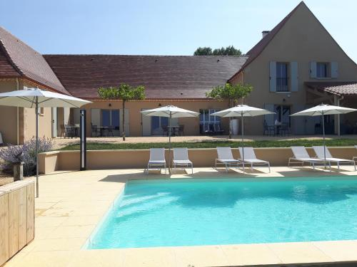 La Douce Dordogne : Bed and Breakfast near Saint-Chamassy