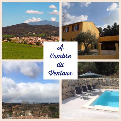A l'ombre du Ventoux : Guest accommodation near Faucon