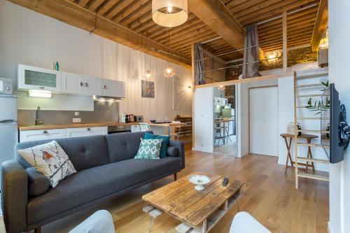Be My Home - L'Antiquaire : Apartment near Lyon 4e Arrondissement