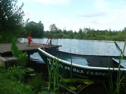 Camping du Vivier aux Carpes : Guest accommodation near Essigny-le-Petit