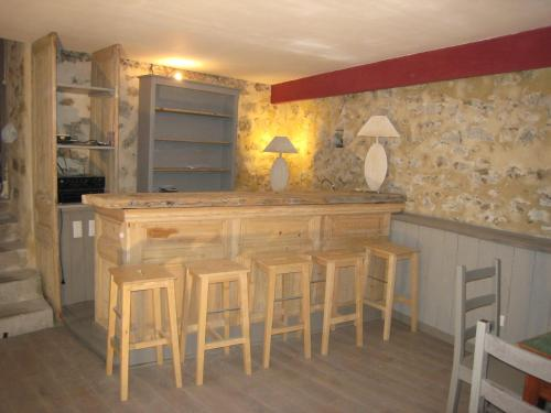 Chalm village : Apartment near Saint-Sixte