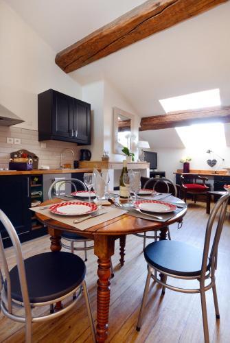 Meublé de charme : Apartment near Lyon 2e Arrondissement