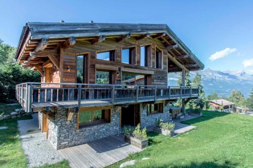 Chalet Mont Blanc : Guest accommodation near Combloux