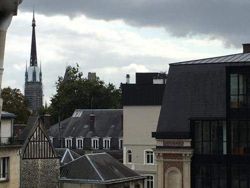 le 4B : Apartment near Rouen